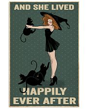 Black cat girl poster 11x17 Poster front