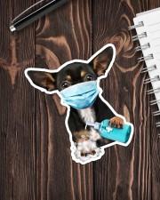 Chihuahua Wash Hands Sticker - Single (Vertical) aos-sticker-single-vertical-lifestyle-front-05