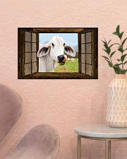 Cow 17x11 Poster poster-landscape-17x11-lifestyle-22