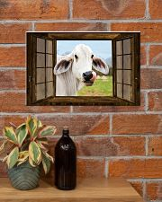 Cow 17x11 Poster poster-landscape-17x11-lifestyle-23