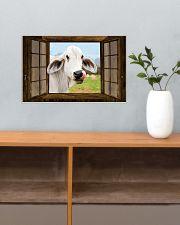 Cow 17x11 Poster poster-landscape-17x11-lifestyle-24