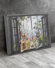 Rabbits 20x16 Gallery Wrapped Canvas Prints aos-canvas-pgw-20x16-lifestyle-front-08