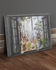 Rabbits 20x16 Gallery Wrapped Canvas Prints aos-canvas-pgw-20x16-lifestyle-front-10