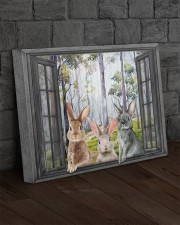 Rabbits 20x16 Gallery Wrapped Canvas Prints aos-canvas-pgw-20x16-lifestyle-front-11