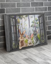 Rabbits 20x16 Gallery Wrapped Canvas Prints aos-canvas-pgw-20x16-lifestyle-front-12