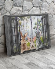 Rabbits 20x16 Gallery Wrapped Canvas Prints aos-canvas-pgw-20x16-lifestyle-front-13
