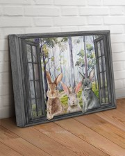 Rabbits 20x16 Gallery Wrapped Canvas Prints aos-canvas-pgw-20x16-lifestyle-front-14