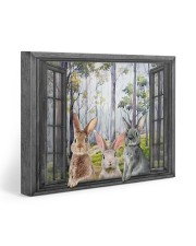 Rabbits 20x16 Gallery Wrapped Canvas Prints front