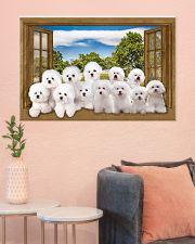Bichon Frise 36x24 Poster poster-landscape-36x24-lifestyle-18