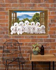 Bichon Frise 36x24 Poster poster-landscape-36x24-lifestyle-20