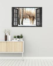 Deer 22 36x24 Poster poster-landscape-36x24-lifestyle-01