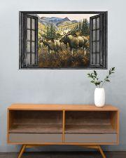 Deer 35 36x24 Poster poster-landscape-36x24-lifestyle-21