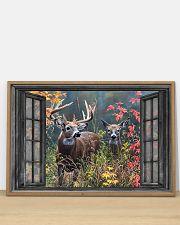 Deer 3 36x24 Poster poster-landscape-36x24-lifestyle-03