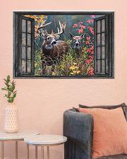 Deer 3 36x24 Poster poster-landscape-36x24-lifestyle-18