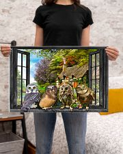 Owl 24x16 Poster poster-landscape-24x16-lifestyle-20