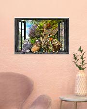 Owl 24x16 Poster poster-landscape-24x16-lifestyle-23