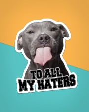 To All My Haters Sticker - Single (Vertical) aos-sticker-single-vertical-lifestyle-front-02