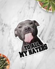 To All My Haters Sticker - Single (Vertical) aos-sticker-single-vertical-lifestyle-front-06