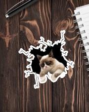 Grumpy cat  Sticker - Single (Vertical) aos-sticker-single-vertical-lifestyle-front-05