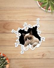 Grumpy cat  Sticker - Single (Vertical) aos-sticker-single-vertical-lifestyle-front-07