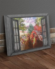 Farm chicken 20x16 Gallery Wrapped Canvas Prints aos-canvas-pgw-20x16-lifestyle-front-10