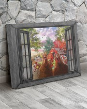 Farm chicken 20x16 Gallery Wrapped Canvas Prints aos-canvas-pgw-20x16-lifestyle-front-13