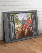 Farm chicken 20x16 Gallery Wrapped Canvas Prints aos-canvas-pgw-20x16-lifestyle-front-14