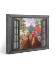 Farm chicken 20x16 Gallery Wrapped Canvas Prints front