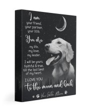 Your Golden Retriever 11x14 Gallery Wrapped Canvas Prints front