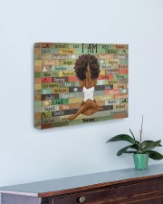 I am black 20x16 Gallery Wrapped Canvas Prints aos-canvas-pgw-20x16-lifestyle-front-01