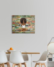 I am black 20x16 Gallery Wrapped Canvas Prints aos-canvas-pgw-20x16-lifestyle-front-05