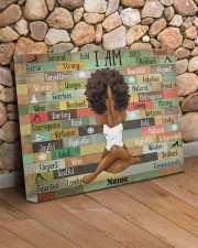 I am black 20x16 Gallery Wrapped Canvas Prints aos-canvas-pgw-20x16-lifestyle-front-18