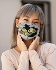 Turtle Crack Cloth face mask aos-face-mask-lifestyle-17