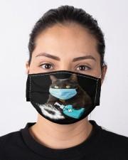 Black Cat  Cloth face mask aos-face-mask-lifestyle-01