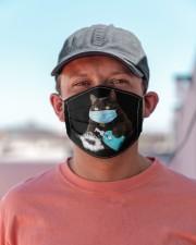 Black Cat  Cloth face mask aos-face-mask-lifestyle-06