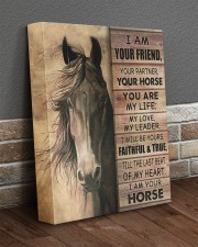 I'm your friend and your horse 11x14 Gallery Wrapped Canvas Prints aos-canvas-pgw-11x14-lifestyle-front-10