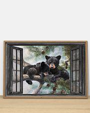 Bear 6 36x24 Poster poster-landscape-36x24-lifestyle-03