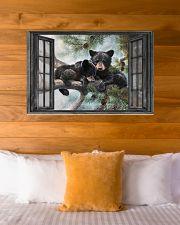 Bear 6 36x24 Poster poster-landscape-36x24-lifestyle-23
