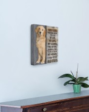 I Am Your Golden Retriever 11x14 Gallery Wrapped Canvas Prints aos-canvas-pgw-11x14-lifestyle-front-01