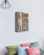 I Am Your Golden Retriever 11x14 Gallery Wrapped Canvas Prints aos-canvas-pgw-11x14-lifestyle-front-02