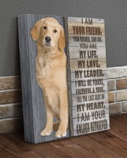 I Am Your Golden Retriever 11x14 Gallery Wrapped Canvas Prints aos-canvas-pgw-11x14-lifestyle-front-10