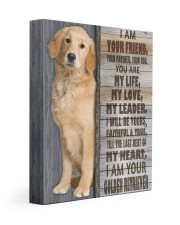 I Am Your Golden Retriever 11x14 Gallery Wrapped Canvas Prints front