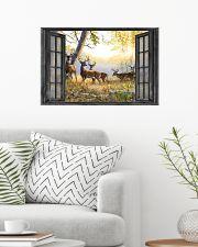Deer 24x16 Poster poster-landscape-24x16-lifestyle-01