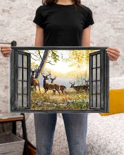 Deer 24x16 Poster poster-landscape-24x16-lifestyle-20