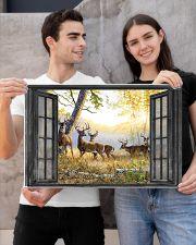Deer 24x16 Poster poster-landscape-24x16-lifestyle-21