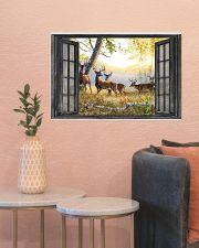 Deer 24x16 Poster poster-landscape-24x16-lifestyle-22