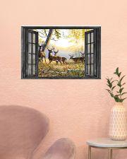 Deer 24x16 Poster poster-landscape-24x16-lifestyle-23