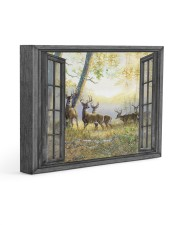 Deer Gallery Wrapped Canvas Prints tile