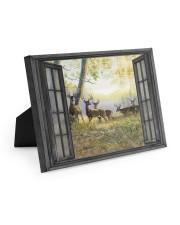 Deer Easel-Back Gallery Wrapped Canvas tile