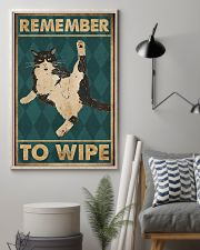 Remember To Wipe 11x17 Poster lifestyle-poster-1